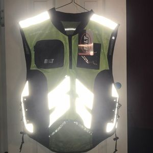 Bilt reflective motorcycle vest